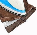 ORLOSVELTO MT 5 - Rotolo di nastro termoadesivo per orli senza bisogno di cuciture - Nastro a rete per orlo svelto - 2AINTIMO®