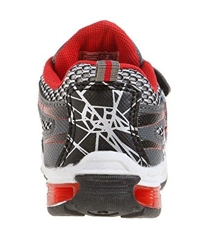 Spiderman Jungen Sneaker - schwarz Schwarz