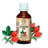 Aceite De Rosa Mosqueta - 100% Puro Y Natural 50ml - Rosa Canina Fruit...