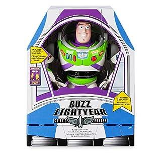Disney Official Store Spielzeuggeschichte Buzz Lightyear Deluxe sprechende Figur Spielzeugpuppe