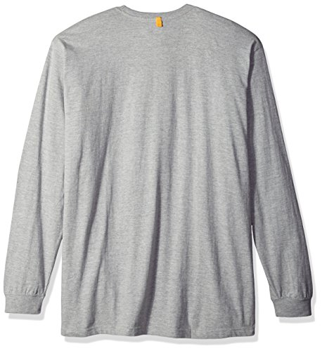 Caterpillar C1510034 Herren Sweatshirt (4XL) (Orange) Heather Grey