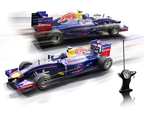 RC Rennwagen kaufen Rennwagen Bild 1: Maisto 581252 - Ferngesteuertes Modellauto 1:14 Red Bull RB10 mit Sebastian Vettel*