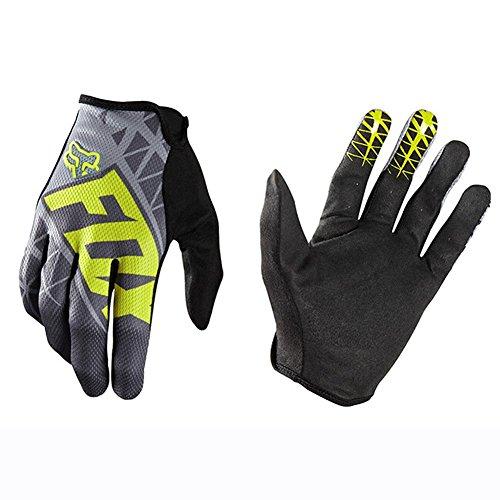 Usb Schwarz Thermal (Claw Monster Motocross Reithandschuhe Fell und Leder Cavalier Bike Motorrad Handschuhe)