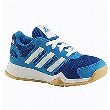 Adidas Tr-Schuh Interplay K, Blau/neongrün/navy, 5,5
