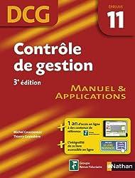 Contrôle de gestion - Manuel et applications