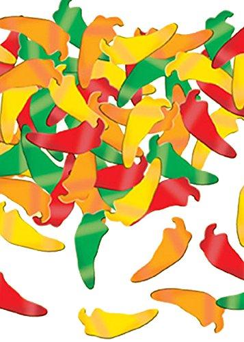 Mexikanische Party Chilli Pepper Tabelle Konfetti