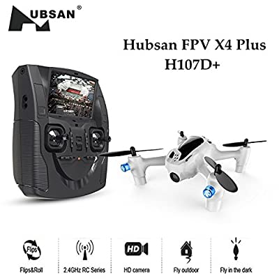 Hubsan H107D+ X4 Quadcopter with FPV Camera
