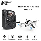 Hubsan H107D+ 5.8G FPV X4 Plus-FPV Quadcopter 6-Achsen-Gyro RC Altitude Halten Headless Modus One Key Return Drone mit HD-Kamera