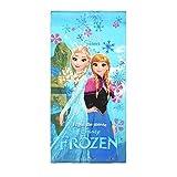 Disney Frozen Handtuch Badetuch Strandtuch Anna und Elsa, 100% Baumwolle, 70x140cm (Anna+Elsa)