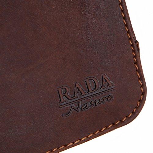 Rada Nature Aktentasche 'Canberra' echt Leder Aktenmappe in verschiedenen Farben (khaki) khaki