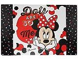 Schreibtischunterlage Disney Minnie Mouse 60 cm * 40 cm - PVC Unterlage / Knetunterlage / Schreibunterlage / Tischunterlage Mickey Maus