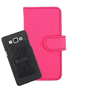 DooDa PU Leather Wallet Flip Case Cover With Card & ID Slots For Wickedleak Wammy Desire 3 - Back Cover Not Included Peel And Paste