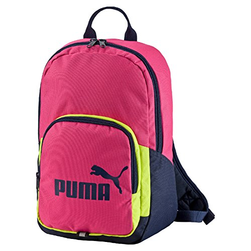 Puma Phase Small, Zaino Uomo, Rosa (Fuchsia Purple/Limepunch), M