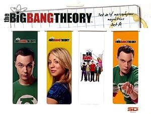 SD toys - The Big Bang Theory, Set A Punto de Libro magnético (SDTWRN27485)