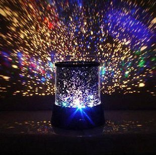 Innoo Tech**LED Night Light Projector Lamp With Colorful Sky Star Scene, Bed Side Lamp With USB Cable - inexpensive UK light shop.