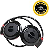 Mini 503 Universal Sports Wireless Bluetooth Headphone Stereo Music Headset Earphone With Built-in Microphone & TF Cart Slot Compatible With All Android And IOS Smartphones - Assorted Colour- By TECHPOOL