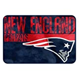The Northwest Company NFL New England Patriots geprägt Memory Foam Teppich, Eine Größe, Multicolor