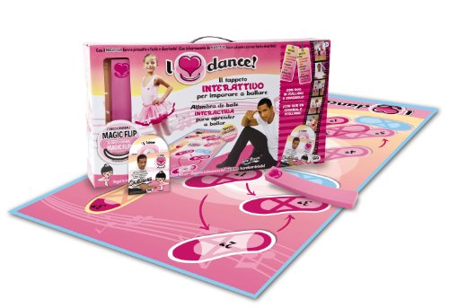 Giochi Preziosi 20653 - I Love Dance - Dance Set + DVD