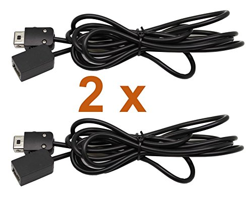 Lot de 2 manette Extension 1,80 m – Compatible avec Nintendo Classic Mini NES et super Nintendo SNES, Fabricant : 2-TECH (Lot de 2)