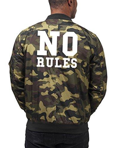 No Rules Bomberjacke Camouflage Certified Freak-S