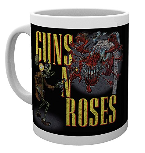 GB Eye, Guns N Roses, Logo, Tasse