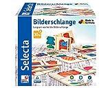 Selecta 62056 Bilderschlange, Legespiel aus Holz, 20 Teile
