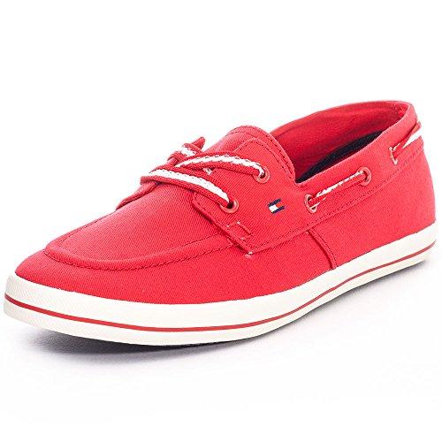 Tommy Hilfiger Victoria 11D Femmes Flats red