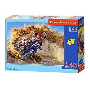 CASTORLAND Far and Dust 260 pcs Puzzle - Rompecabezas (Puzzle Rompecabezas, Vehículos, Niños y Adultos, Niño/niña, 8 año(s), Interior)