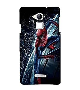 Takkloo warrior super hero,red mask, man with mask, man with super power, spider) Printed Designer Back Case Cover for Coolpad Note 3
