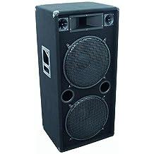 Omnitronic DX-2522 - Altavoces (38 cm, 600W, 1200W, 30-