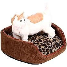 Alfombrilla para mascota, gato, perro, cama nido, cachorro, suave, cálida