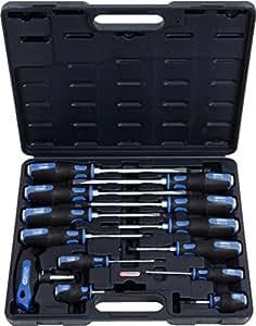 KS Tools 151.1150 Coffret tournevis Ergotorque Plus max 13 pièces