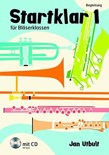 Startklar 1 für Bläserklassen: Begleitung. Ausgabe mit CD.