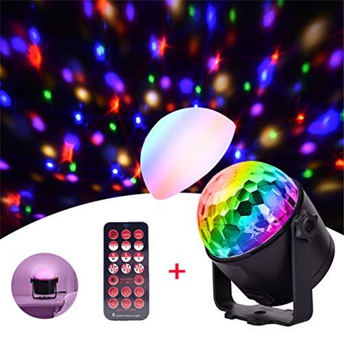 Ledph Bunte Disco-Lampe Führte Drehendes Projektions-Lampen-Magisches Ball-Blitznachtlicht Für KTV-Stab-Tanz-Karaoke, Weihnachten, Hochzeiten, Vereine, Lichteffektbeleuchtung