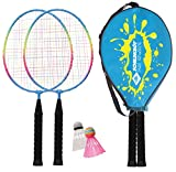 SCHILDKRÖT Badminton-Set JUNIOR im Headcover, 970901