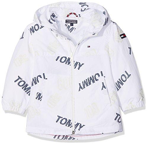 Tommy Hilfiger S Surprise, Chaqueta para Niños, Blanco (Bright White 123), 128 Tommy Hilfiger