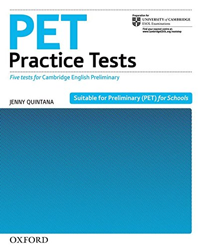 PET Practice Tests. Practice Tests without Key (Preliminary English Test (Pet) Practice Tests)