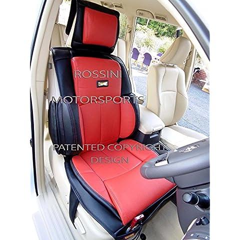 Me–para adaptarse a un Renault Captur Coche, YS06negro/rojo, Recaro deportes fundas de asiento