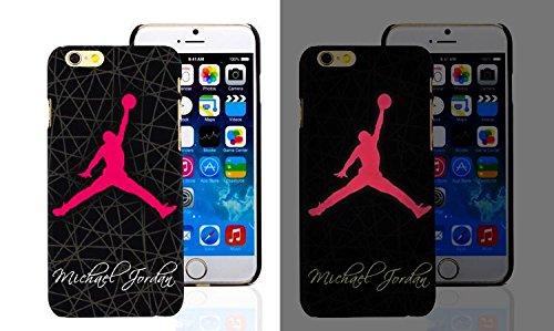 RONNEY'S Air Jordan Luminous PC BLACK Hard Case for Apple Iphone 7 DESIGN 16 Design 3