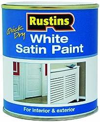 Rustins WHISW250 250ml Satin - White