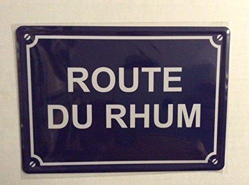 Preisvergleich Produktbild Platte Metal 15 x 21 cm NEU / Route des Rum