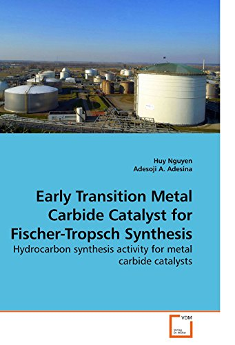 Early Transition Metal Carbide Catalyst for Fischer-Tropsch Synthesis