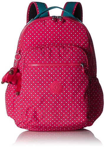 Imagen de kipling  seoul up   grande  pink summer pop  multi color