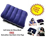 MARK AMPLE® 3 in 1 Travel Selection Comfort Neck Pillow, Travel Eye Shade