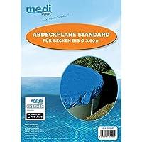 Telone di copertura Standard per piatti fino a Ø 3,60m–Piscina–Telone estivo–Blu