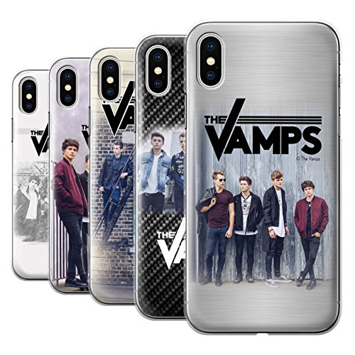Offiziell The Vamps Hülle / Case für Apple iPhone X/10 / Sammelalbum Muster / The Vamps Fotoshoot Kollektion Pack 6pcs