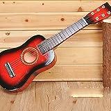 E Support TM New 58,4cm débutants Musical Instrument pratique pour guitare acoustique 6cordes Musique pour enfant jouet cadeau 23 inch rouge