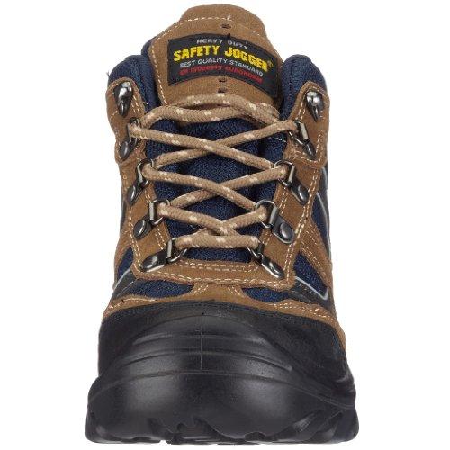 Safety Jogger X2000, Unisex - Erwachsene Arbeits & Sicherheitsschuhe S1 braun (blk/brn/navy10Ablk/brn/navy)