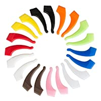 10 Pairs Kids and Adults Sport Eyeglass Strap Holder, Silicone Anti Slip Holder, Eyewear Retainer for Ear Hook, Glasses Piece, Eyeglass Temple Tip