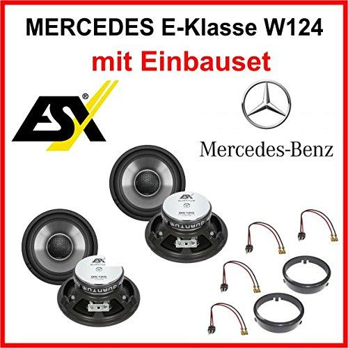 Heck Lautsprecher Set ESX QE120 für Mercedes E-Klasse gebraucht kaufen  Wird an jeden Ort in Deutschland